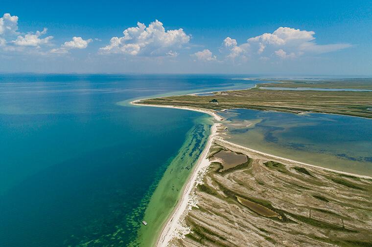 Island in Kherson region