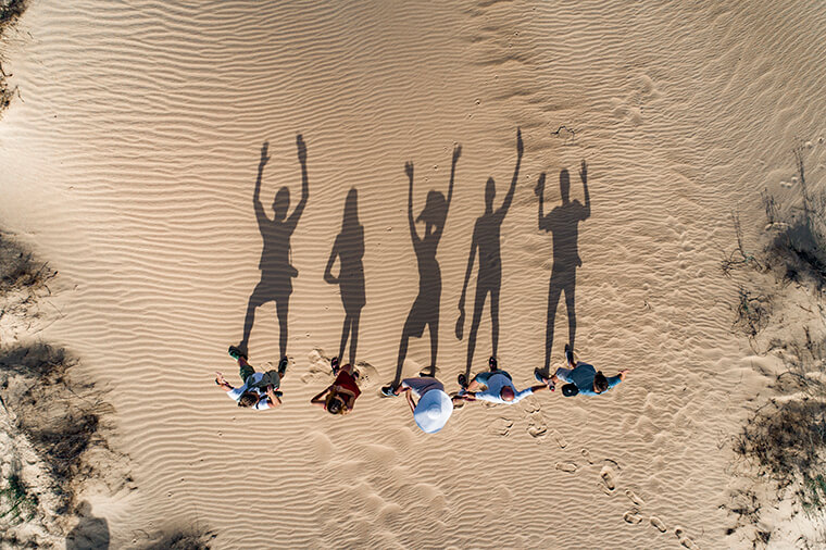 Тіні у пустелі