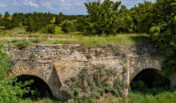 Arched Viaduct in the Village of Burgunka