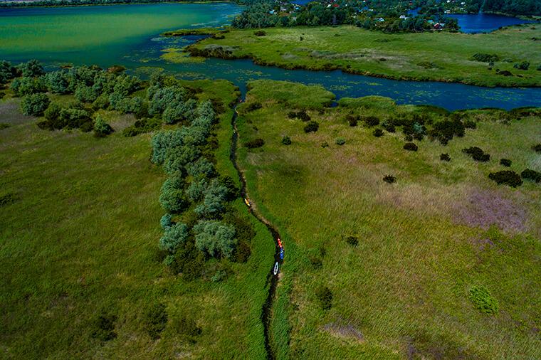 Річки і зелень
