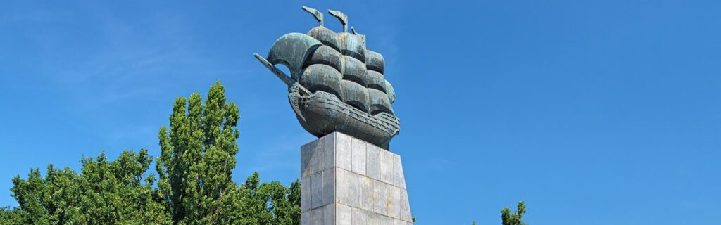 The Monument to the First Shipbuilders