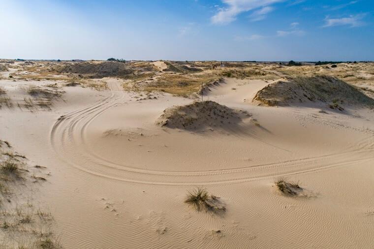 Ukrainian desert