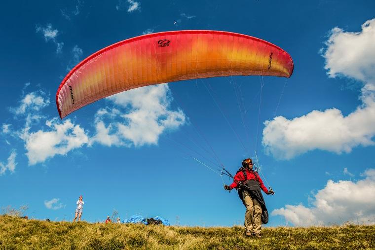 Парапланинг в Херсонских горах