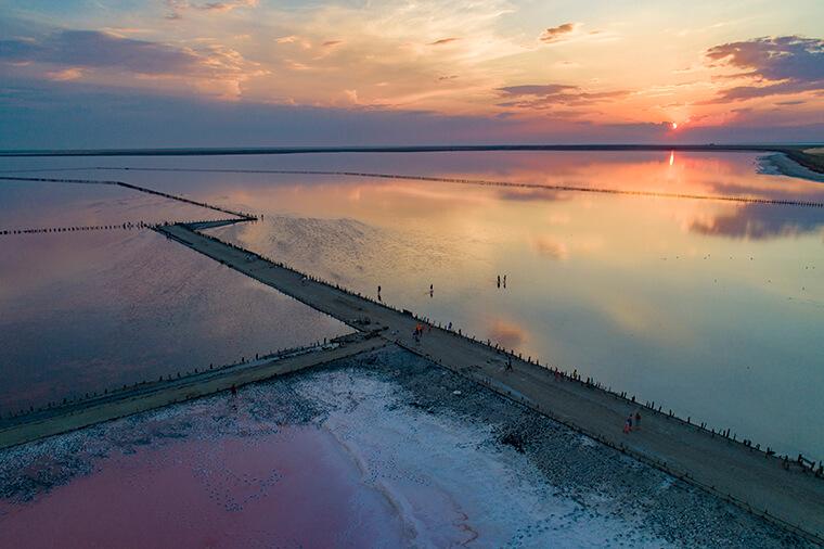 Древнее озеро