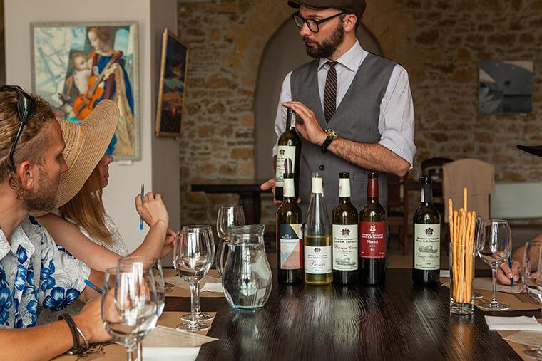 Знания про вино