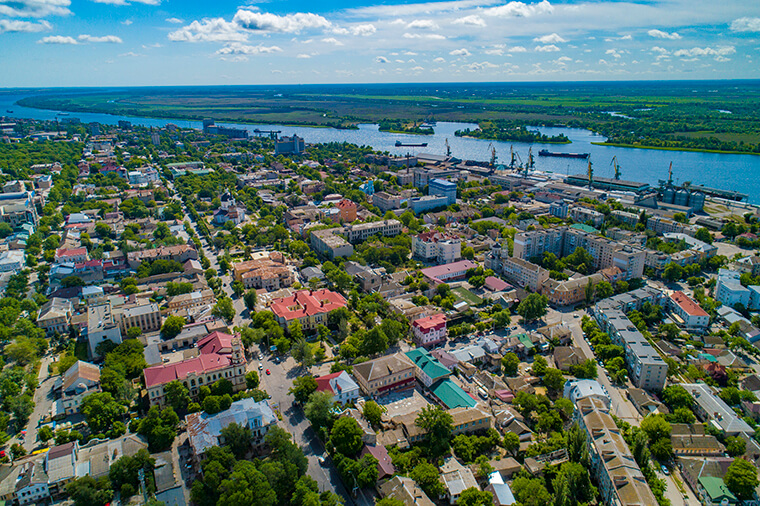 View of Kherson