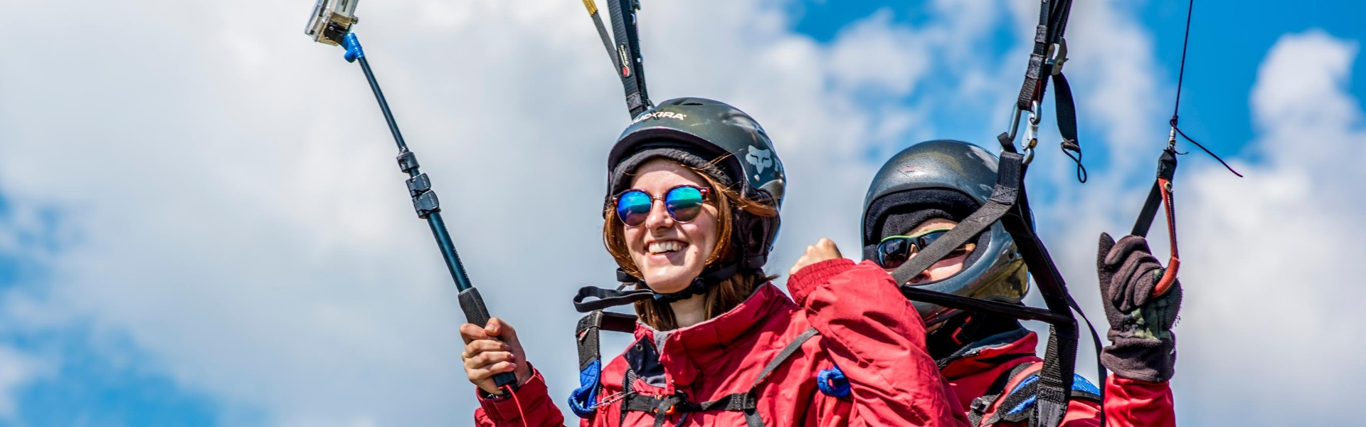 Paragliding in Kherson