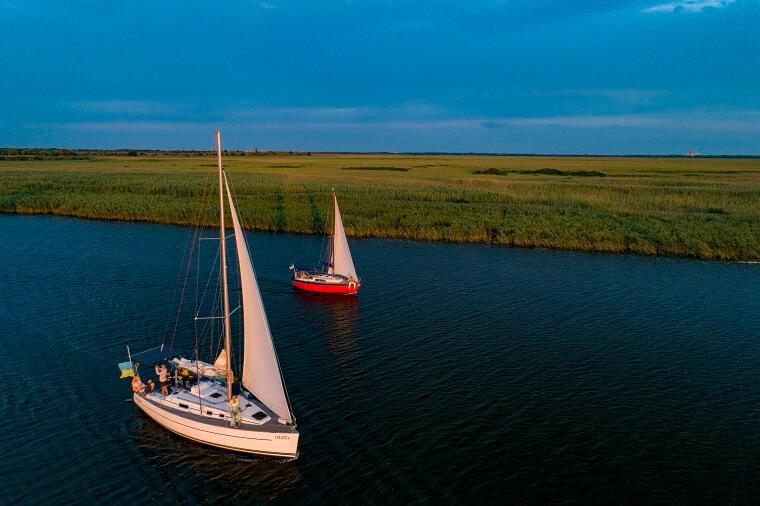 Подорож на яхтах