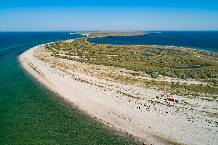Узбережжя острова Джарилгач