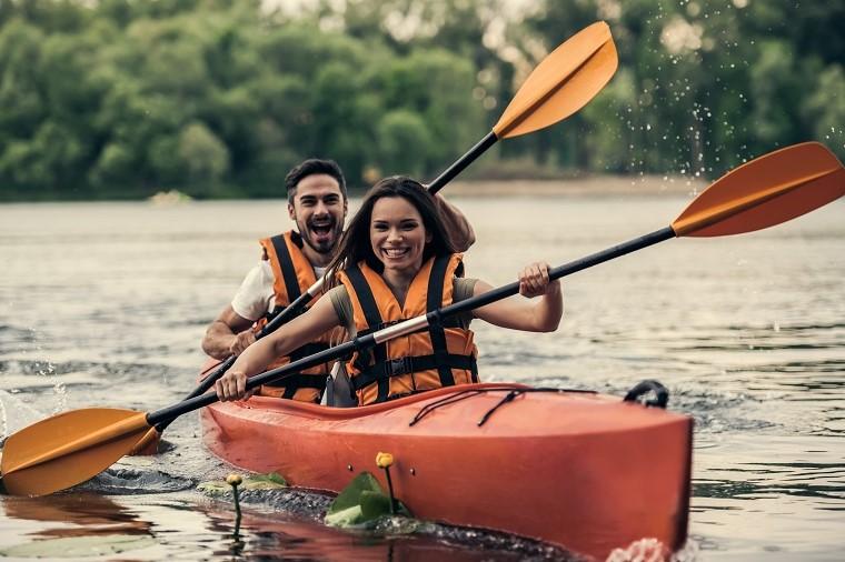 Nova Kakhovka kayaking
