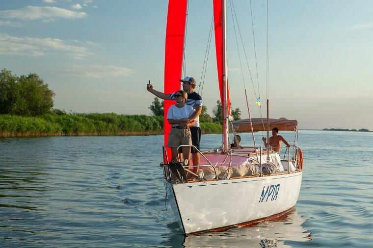 Романтика на яхті