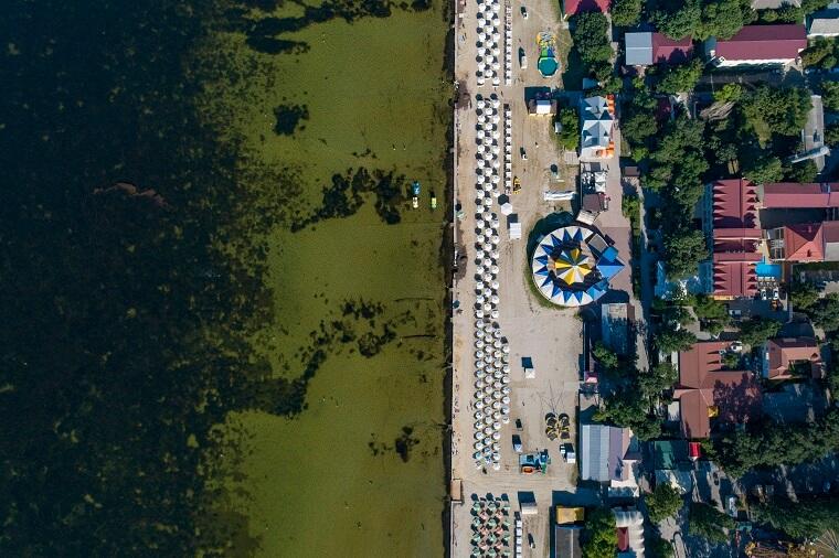 Skadovsk coast