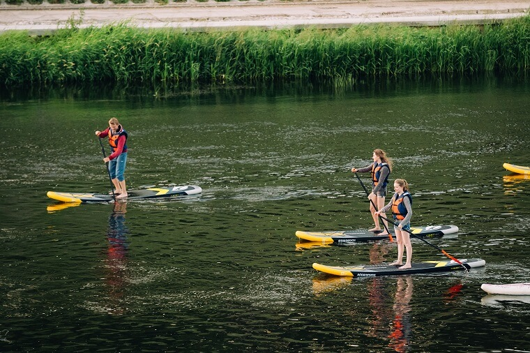 Trip on SUP-boards in Henichesk