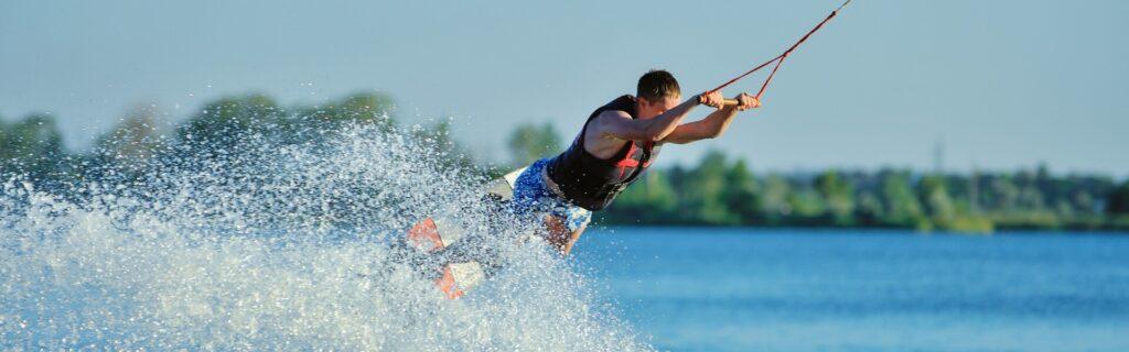 Wakeboarding in Kherson