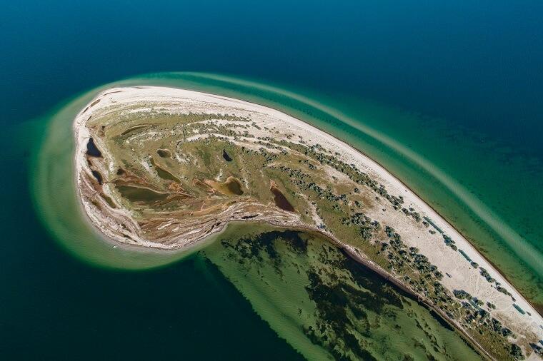Острів Джарилгач, Херсонщина