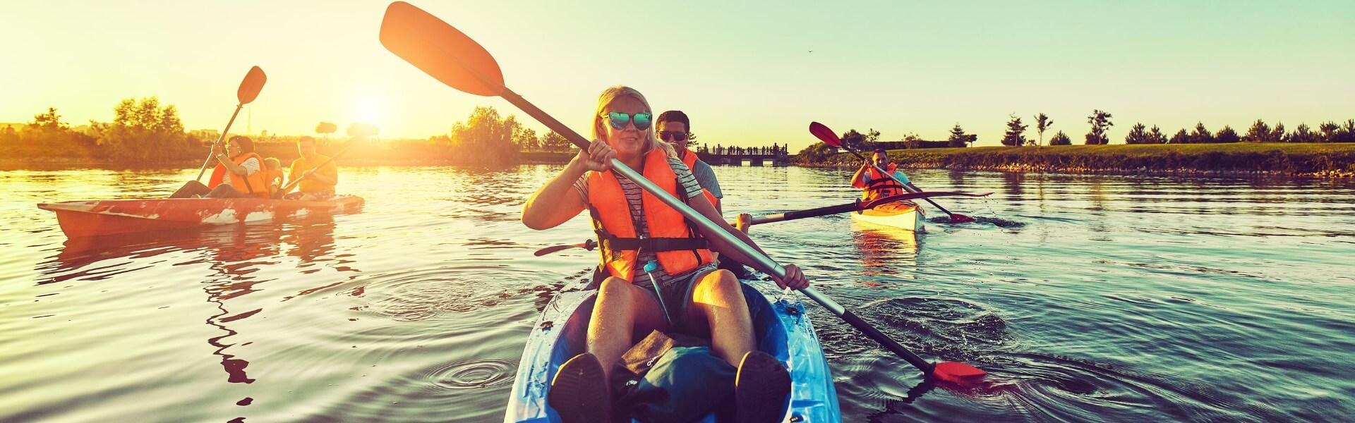 A Kayak Trip in Henichesk