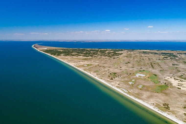 Kinburn Spit from the top