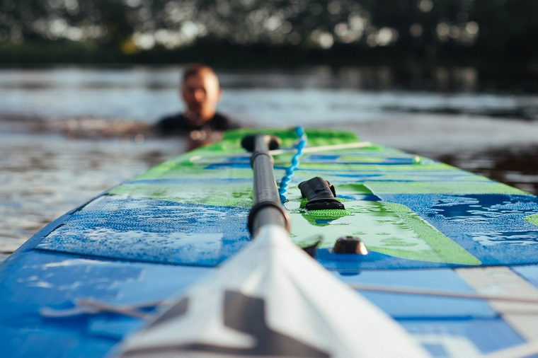 Sup-board in kherson on Dniepro