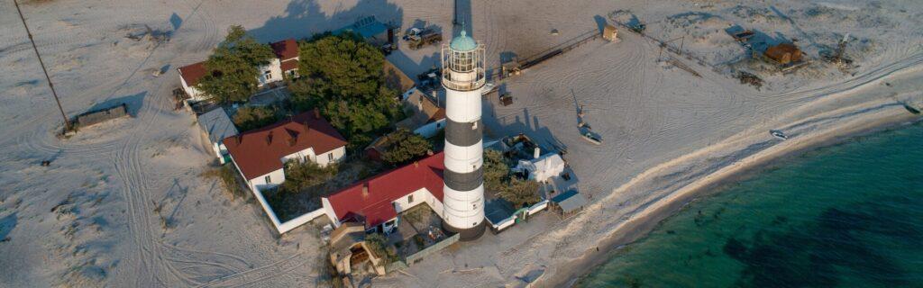 Tendrivskyi Lighthouse