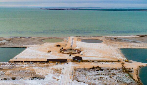 Гліцеринове озеро в Стрілковому